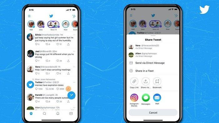 Pengguna iOS Sekarang Bisa Bagikan Langsung Tweet ke Instagram Story, Begini Caranya