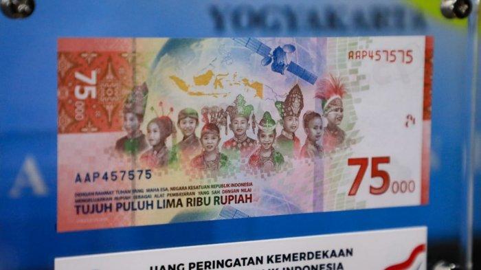 Gubernur Bank Indonesia: Masyarakat Bisa Tukar Uang Baru Rp 75 Ribu di BI Terdekat