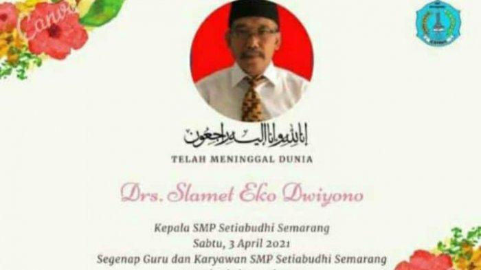 Korban Kecelakaan Depan Penerbad Semarang Ternyata Kepala Sekolah di SMP Setiabudhi