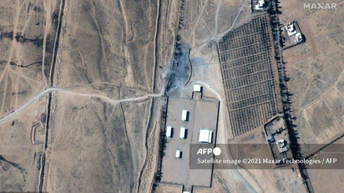 AS Serang Sebuah Situs di Suriah, Mengaku Targetkan 2 Kelompok Milisi yang Didukung Iran