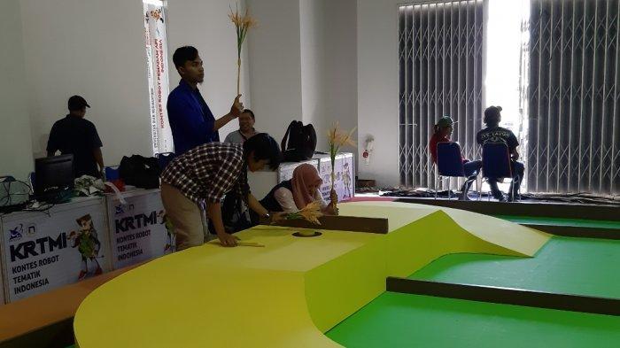 Udinus Tuan Rumah Kontes Robot Indonesia Tingkat Nasional, Tahun Ini Ada Enam Kategori