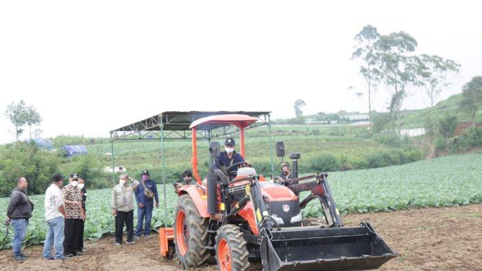 Dieng Jadi Sasaran Bantuan Alsintan Modern dari Kementerian Pertanian