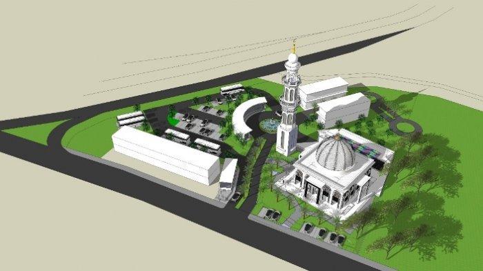 Haji Azhar Combo Bangun Masjid untuk Ummat