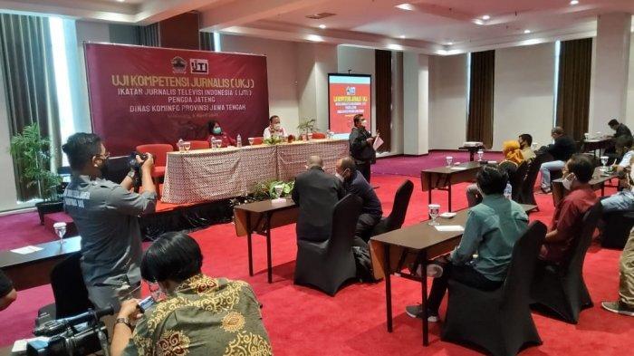 IJTI Jawa Tengah Gelar Uji Kompetensi Jurnalis TV Gratis