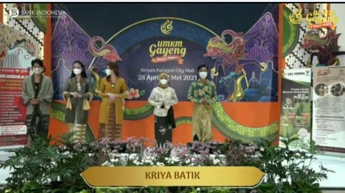 UMKM Binaan Unisbank Semarang turut serta dalam pameran UMKM Gayeng Monconegoro artisan Jawa Tengah 2021 Go International  di Mal Paragon, kemarin.