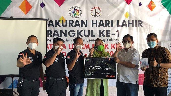 Tasyakuran I dan Peluncuran Website UMKM Rangkul : Wawako Semarang : Harus Bisa Naik Kelas