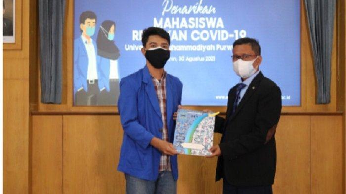 Mahasiswa KKN Universitas Muhammadiyah Purwokerto yang Jadi Relawan Covid Dapat Penghargaan Bupati