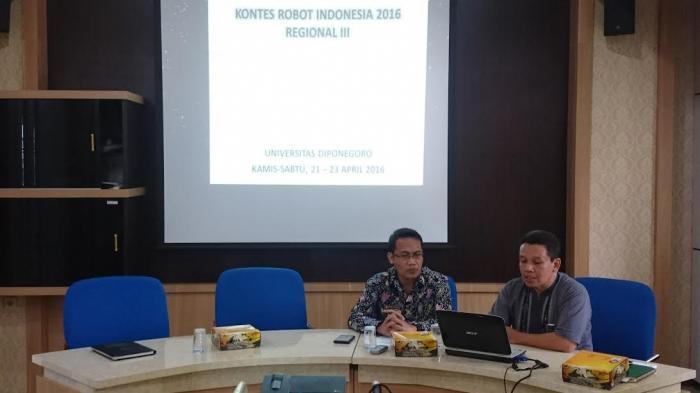 Undip Siapkan Lima Tim dalam Kontes Robot Indonesia