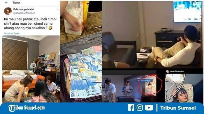 Viral Amanda Manopo Serius Hitung Uang 1 Koper, Mau Beli Pabrik? Netizen Malah Punya Dugaan Sendiri