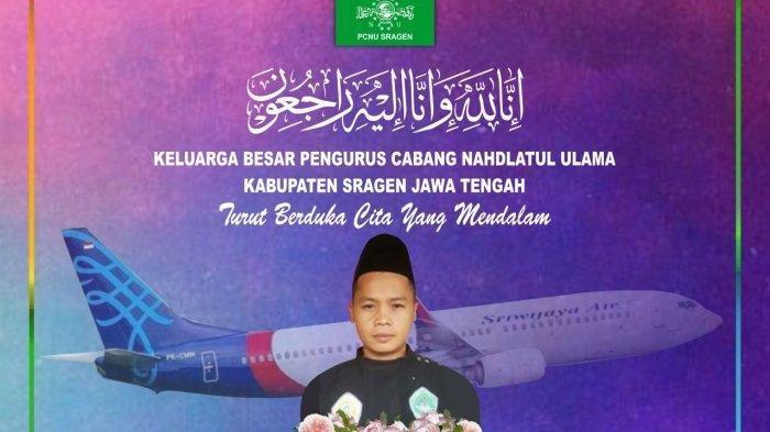 Fakta Baru Pesilat Pagar Nusa Sragen Jadi Korban Pesawat Sriwijaya Air Jatuh