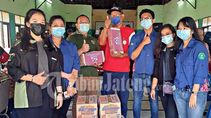FK Unika Salurkan Bantuan ke Warga Kota Semarang Terdampak Banjir