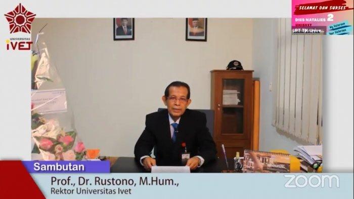 Dies Natalis Ke-2 Universitas Ivet Semarang Launching Penyebutan Nama Menjadi Unisvet