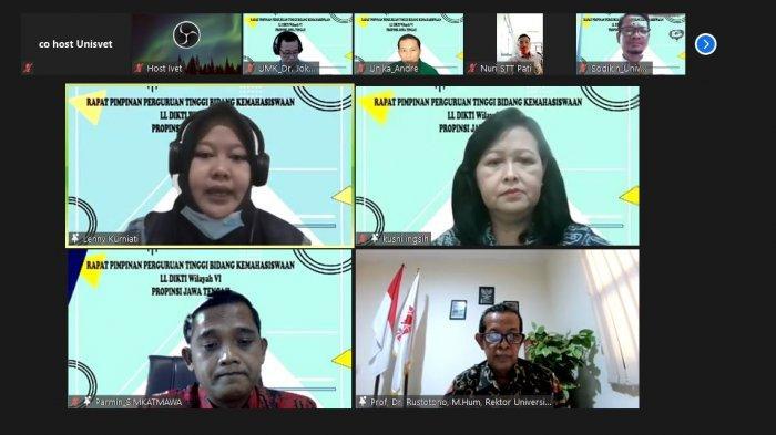 Universitas Ivet Jadi Tuan Rumah RAPIM perguruan Tinggi Bidang Kemahasiswaan Jawa Tengah