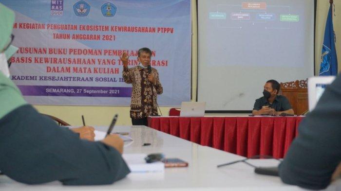 AKS Ibu Kartini Semarang Perkuat Ekosistem Kewirausahaan kepada Mahasiswa