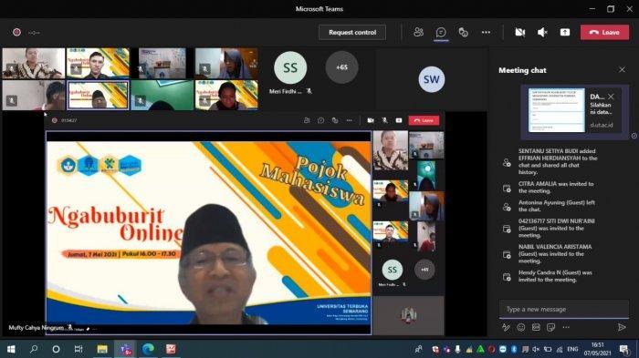 Ramadhan di Masa Pandemi,  UT Semarang Ajak Mahasiswa Ngabuburit Online