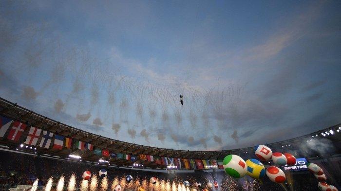 Pembukaan Euro 2020 Tetap Meriah meski di Tengah Pandemi Berkat Teknologi Hologram