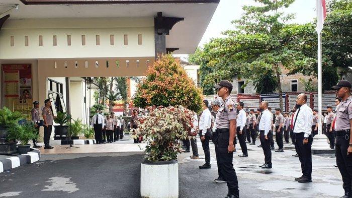 Virus Corona Ubah Cara Polres Wonogiri Upacara, AKBP Cristian: Tak Ada Polisi yang Tidak Bekerja