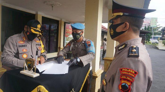 Sejumlah Jabatan Kabag, Kasat dan Kapolsek di Polres Purbalingga Diduduki Pejabat Baru