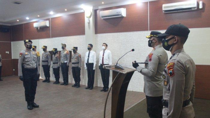 Pergantian Pejabat di Polres Pati, Kapolres Ingatkan Soal Pengamanan Pilkades