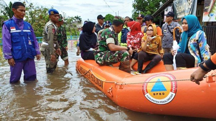 Pekalongan Berstatus Darurat Banjir, Ribuan Rumah di 9 Desa Terendam, Pengungsi Capai 3.576 KK