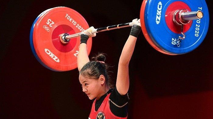Update Klasemen Olimpiade 2021, Indonesia Meroket ke Posisi 4 Berkat Medali Windy Cantika Aisah