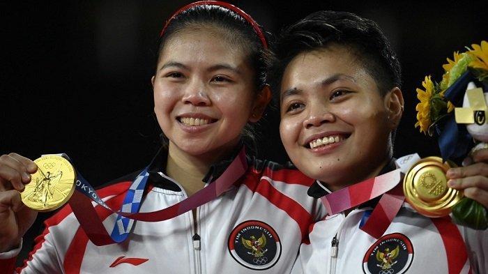 Update Klasemen Olimpiade Tokyo 2021, Posisi Indonesia Melesat Setelah Greysia/Apriyani Sumbang Emas