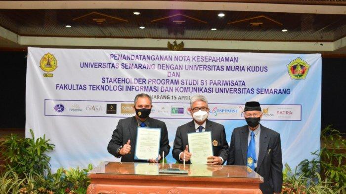 USM Jalin Kerjasama dengan UMK, Implementasikan Merdeka Belajar Kampus Merdeka