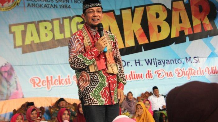 Pesan Ustaz Wijayanto : Pesta Demokrasi Jangan Sampai Memutuskan Tali Silaturahmi