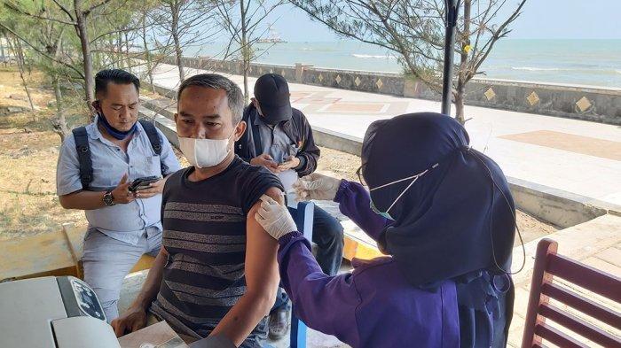Pemerintah Kota Tegal Buka Wisata Vaksin Terapung di Pantai Alam Indah