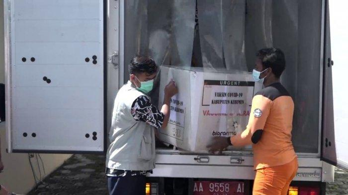 Vaksin Sinovac Tiba di Kebumen, Vaksinasi Tahap Awal Diberikan Ke 10 Pejabat Pemkab