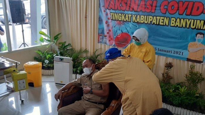 Bupati dan Ketua DPRD Banyumas Tak Ikut Vaksinasi, Terkendala Usia