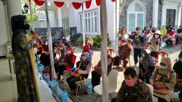 Gandeng Kemenkes dan Dinkes Kabupaten Tegal, Dewi Aryani Gelar Vaksinasi 1.000 Orang Tiap Pekan