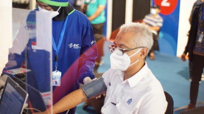 Dukung Percepatan Vaksinasi COVID-19 Nasional, Karyawan Semen Gresik Bersiap Ikuti Vaksinasi Kedua