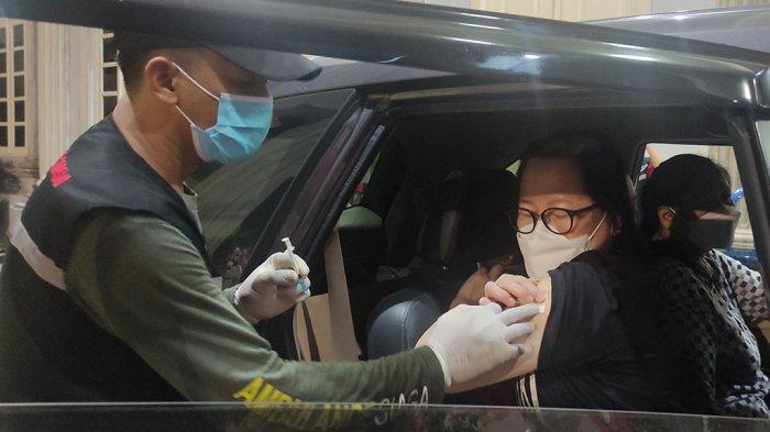 Dinkes Semarang Layani Vaksinasi Drive Thru Mulai Jam 7 Malam