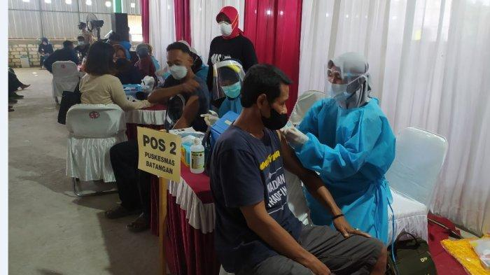 Kodim dan HIPMI Pati Gelar Vaksinasi Massal Gratis, Diikuti Seribu Warga