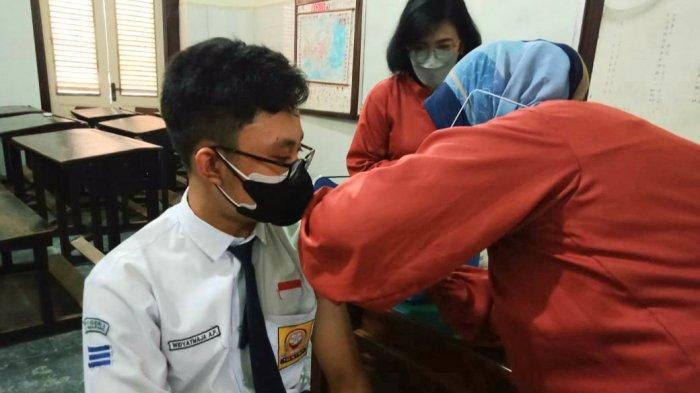 Siswa SMAN 3 Semarang Sudah Divaksin, Keburu Kangen Belajar di Sekolah