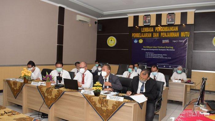 Verifikasi dan Visitasi Program Kompetisi Kampus Merdeka di Unsoed Purwokerto