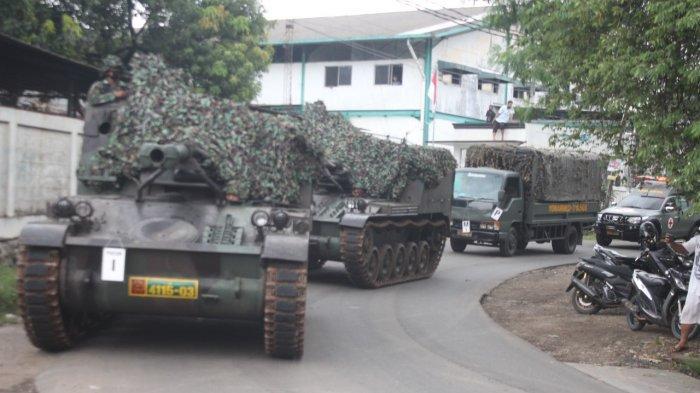 Viral Tank TNI Kodam Jaya Diterjunkan Penyekatan Pemudik di Perbatasan Bekasi-Bogor, Cek Faktanya