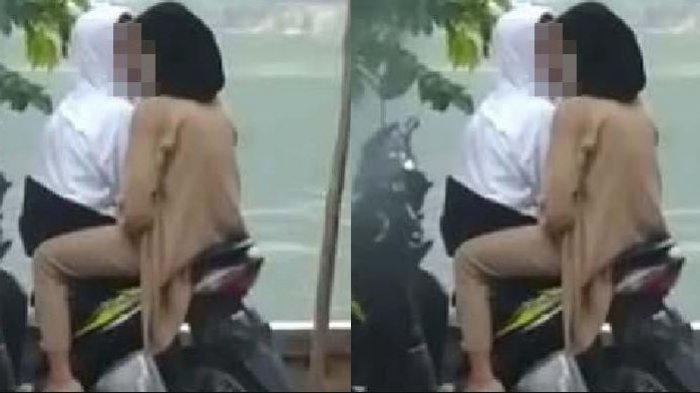Beredar Video Mesum Muda Mudi di Atas Motor, Polisi Buru Pelaku