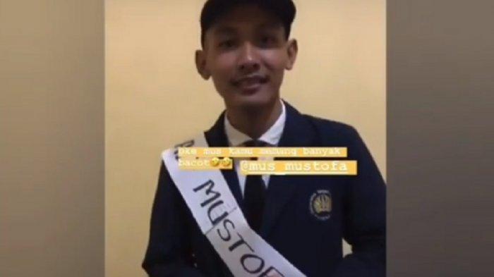 Viral Video Ahmad Mahasiswa Sidang Skripsi Online Video Call WA Saat Sosial Distancing Virus Corona