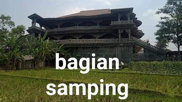 Viral Rumah bak Istana di Tengah Sawah namun tak Berpenghuni, Kisah di Baliknya Terungkap