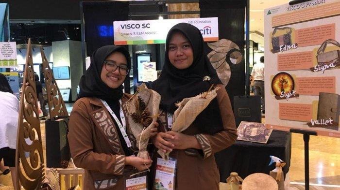 Berbekal Limbah Tahu, Siswa SMAN 3 Semarang Juara di Kompetisi Kewirausahaan Tingkat Nasional