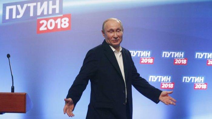 Presiden Vladimir Putin Terpilih sebagai Pria Terseksi di Rusia