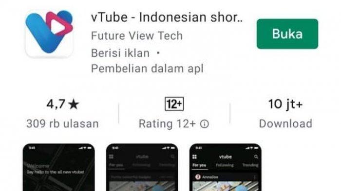 Apa Itu VTube? Hilang dari PlayStore Seusai Diblokir Kominfo