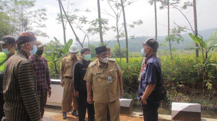 Realisasi Perbaikan Infrastruktur di Purbalingga, Jalan Karangjambu Menuju Ponjen Mulai Ditingkatkan