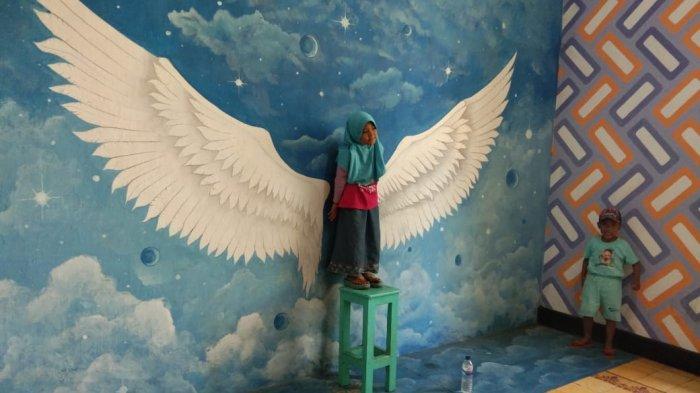 Hobi Swafoto? Wajib Kunjungi Wahana Foto 3D di Kompleks Pabrik Gula Pangkah Tegal