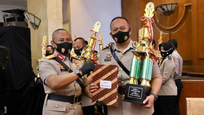 Polres Semarang Raih Juara 2 Lomba Kampung Siaga Candi Polda Jateng 2020