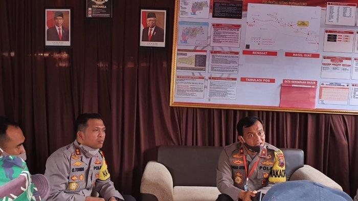 Brigjen Pol Ahmad Luthfi ke Perbatasan Jateng-Jatim di Wonogiri Pastikan Penyekatan Berjalan Baik