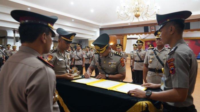 6 Kapolres dan Dirresnarkoba Polda Jateng Dipindahtugaskan