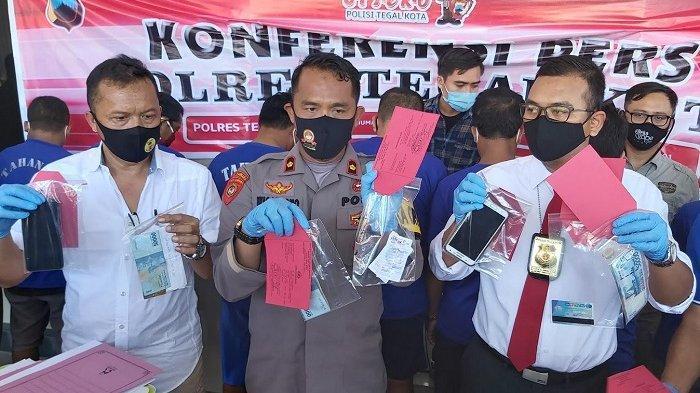 Polisi Ringkus 3 Kasus Judi di Kota Tegal, Modus Transaksi di Media Online